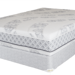 white flippable mattress